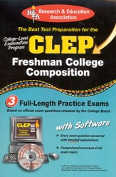 The Best Test Preparation for the CLEP - Freshman English Composition w/CD-ROM