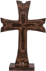 Pedestal Cross, Brown