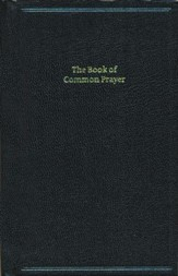 1662 Book of Common Prayer, Standard Edition- Hardcover, black