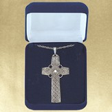 Celtic Cross, Sterling Silver Pendant