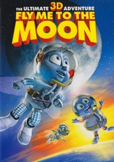 Fly Me to The Moon 3D, DVD