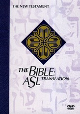 The Bible: ASL Translation: New Testament Boxed Set