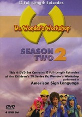 Dr. Wonder's Workshop: Season 2, 4-DVD Set