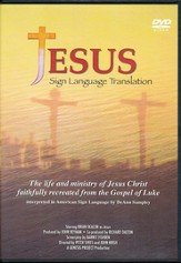 The Jesus Movie, Sign Language Translation, DVD