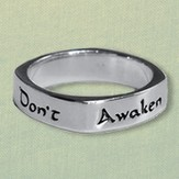 Don't Awaken Love Ring, Sterling Silver, Size 8