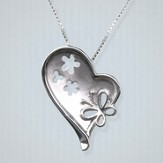 I am God's Creation Necklace, Sterling Silver