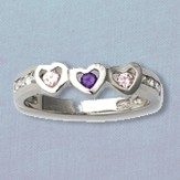 My Heart Belongs to Jesus Ring, Sterling Silver, Size 7