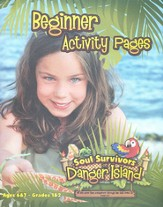 Beginner Activity Pages with stickers (Ages 6-7)