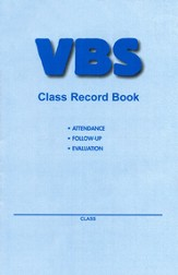 VBS Class Record Book