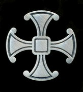 Canterbury Cross Pin