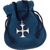 Maltese Cross Youth Pouch