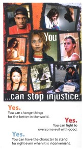 HLA - You... Can Stop Injustice - Pack of 25