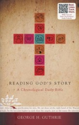 Reading God's Story: A Chronological Daily Bible, Paperback  - Slightly Imperfect