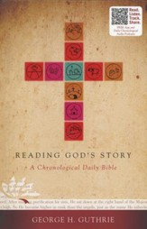 Reading God's Story: A Chronological Daily Bible, Hardcover  - Slightly Imperfect
