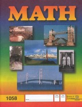 Latest Edition Math PACE 1058, Grades 5