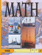 Latest Edition Math PACE 1066, Grade 6