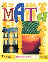 Latest Edition Math PACE SCORE Key 1024, Grade 2