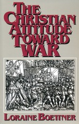 Christian Attitude Toward War