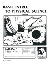 Introduction To Physical Science PACE 4, Grades 9-12
