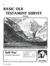 Old Testament Survey PACE 1, Grades 9-12