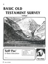 Old Testament Survey PACE 2, Grades 9-12