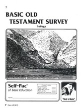 Old Testament Survey PACE 7, Grades 9-12