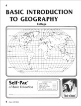 Introduction To Geography Self-Pac 4