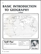 Introduction To Geography Self-Pac 7