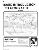 Introduction To Geography Self-Pac 8