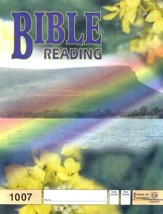 Bible Reading PACE 1007, Grade 1