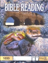 Bible Reading PACE 1033, Grade 3
