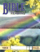 Bible Reading PACE 1043, Grade 4
