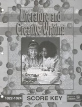 Literature And Creative Writing PACE SCORE Key, Grade 2 1022-1024