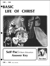 Life Of Christ Self-Pac Key 139-144