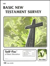 New Testament Survey Self-Pac 105, Grades 9-12