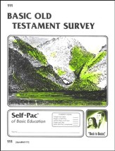 Old Testament Survey Self-Pac 111, Grade 9-12