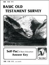 Old Testament Survey Key 109-111