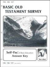 Old Testament Survey Key 115-117