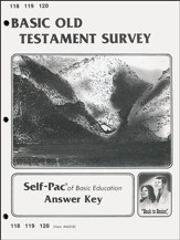 Old Testament Survey Key 118-120