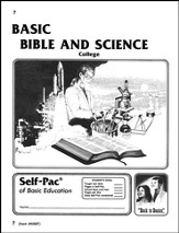 Bible And Science Self-Pac 7, Grade 9-12
