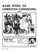 Introduction To Christian Counsel Self-Pac 7