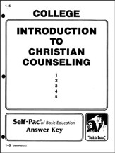 Introduction To Christian Counsel Key 1-5