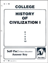 History Of Civilization 1 Key 6-10