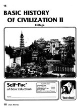History Of Civilization 2 Self-Pac 16