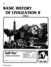 History Of Civilization 2 Self-Pac 17