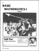 College Math Self-Pac 2