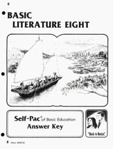 Basic Literature 8 Score Key