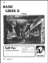 Greek Self-Pac 17, Grade 9-12