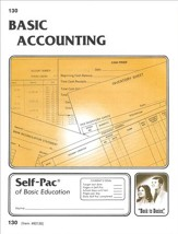 Accounting Self-Pac 130, Grades 9-12