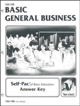 General Business Key 103-108
